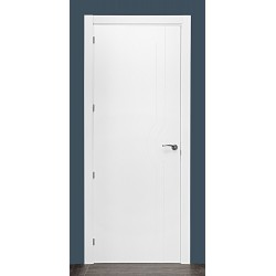 Puerta modelo ML14 lacada blanca