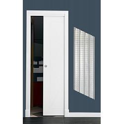 Puerta modelo ML17 corredera lacada blanca