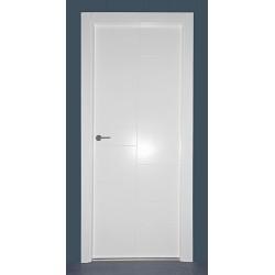 Puerta modelo ML16 lacada blanca