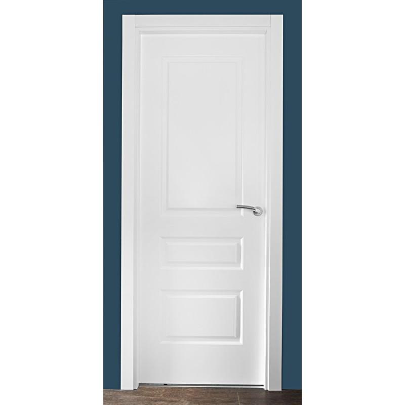 Puerta lacada blanca precio ideas de disenos for Puertas madera blancas precios