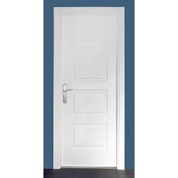 Puerta modelo 400 lacada blanca