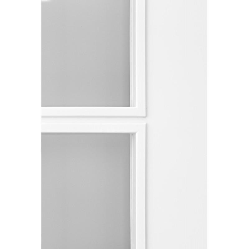 Puerta modelo 202 8v lacada blanca rodapies lacados de for Puerta lacada blanca