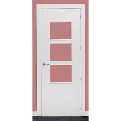 Puerta modelo  M11 3V lacada blanca