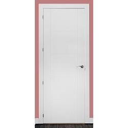Puerta modelo ML11 lacada blanca