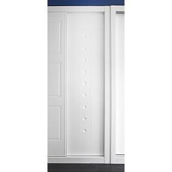 Puerta armario corredera modelo 3 lacada blanca
