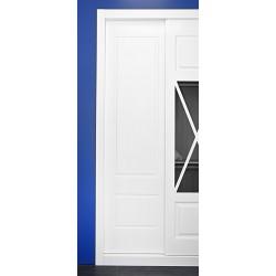 Puerta armario corredera modelo 1 lacada blanca