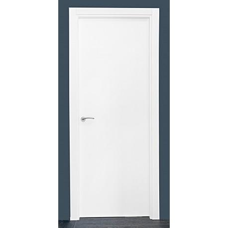 Puerta modelo lisa lacada blanca