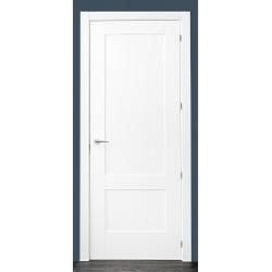 Puerta modelo 2C lacada blanca