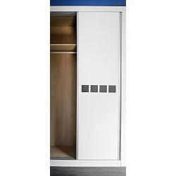 Puerta armario corredera modelo 6 lacada blanca