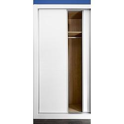 Puerta armario corredera modelo 5 lacada blanca