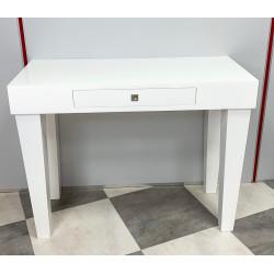 Mesa recibidor lacado blanco