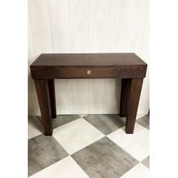 Mesa recibidor marrón wenge